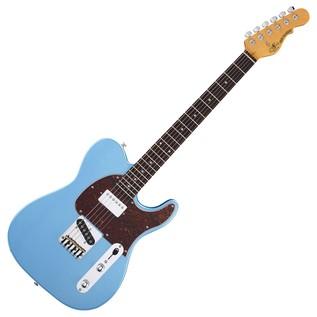 G&L Tribute ASAT Classic Bluesboy, Lake Placid Blue Full Guitar