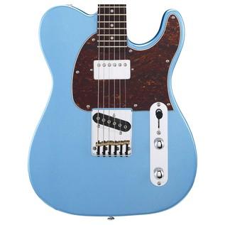 G&L Tribute ASAT Classic Bluesboy, Lake Placid Blue Body View
