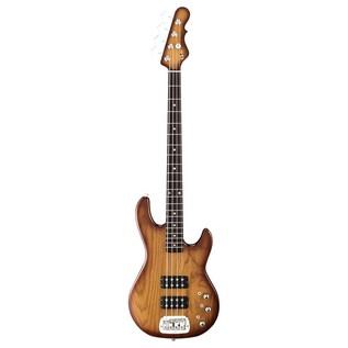 G&L Tribute L-2000 Electric Bass, Tobacco Sunburst Front View