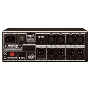 SPL 2Control Dual Channel Headphone Controller - Rear