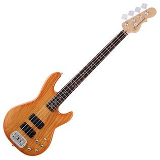 G&L Tribute M-2000 Electric Bass, Honeyburst Full Bass
