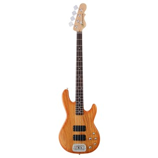 G&L Tribute M-2000 Electric Bass, Honeyburst Front View