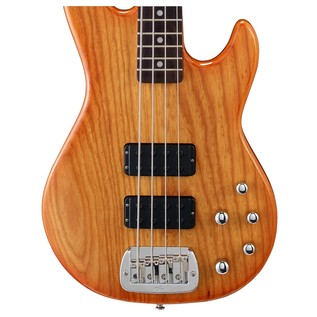 G&L Tribute M-2000 Electric Bass, Honeyburst Body View