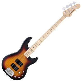 G&L Tribute M-2000 Electric Bass, 3-Tone Sunburst Full Guitar