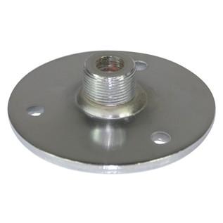 SoundLAB Gooseneck Base With External Thread, Silver