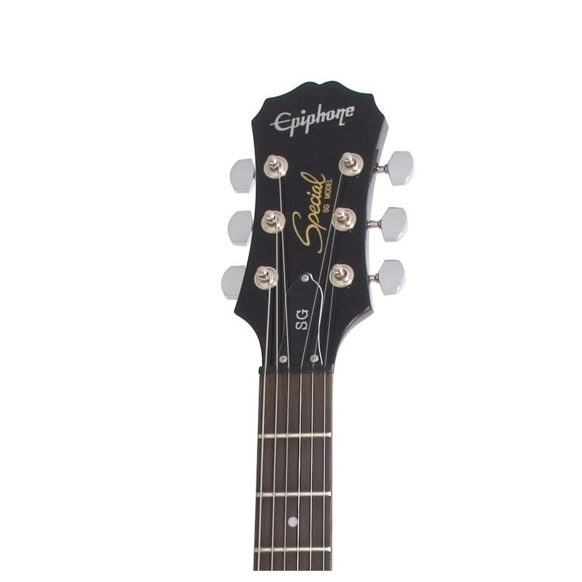Disc Epiphone Sg Special Ebony Electric Guitar Black B Stock At