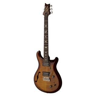 PRS S2 Custom 22 Semi-Hollow Guitar, Amber Sunburst (2017) 2