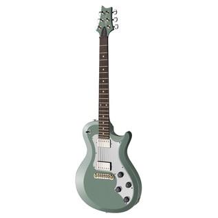 PRS S2 Singlecut Standard Electric Guitar, Frost Green Metallic