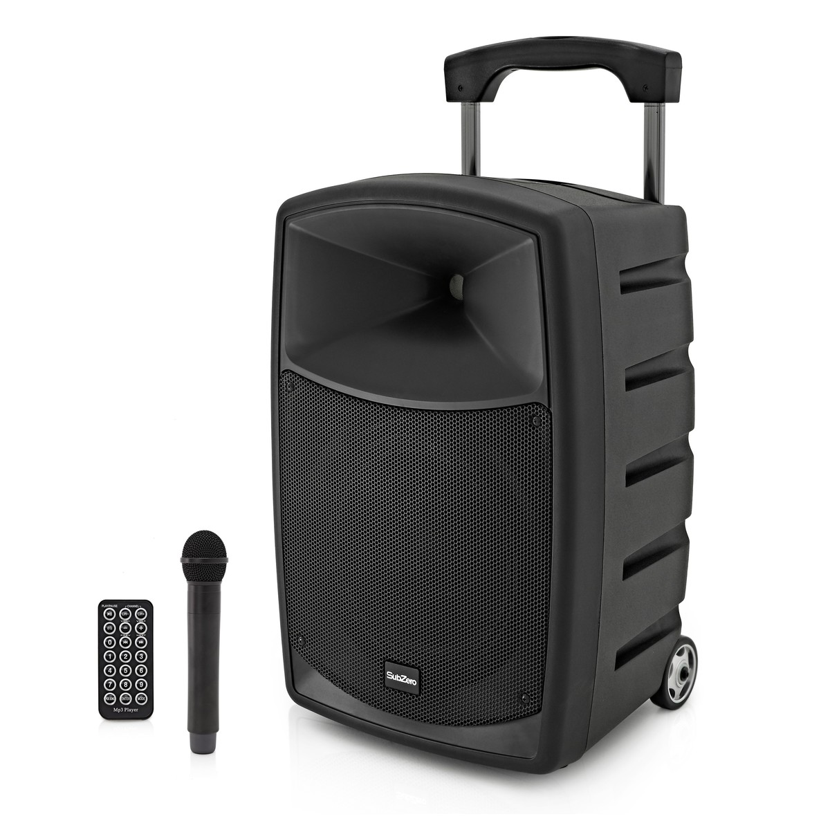 SubZero SZPA-P10X Battery Powered Portable PA System with Bluetooth