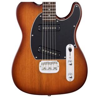 G&L ASAT Special Electric Guitar, Tobacco Sunburst Body View