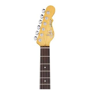 G&L ASAT Special Electric Guitar, Tobacco Sunburst Neck View
