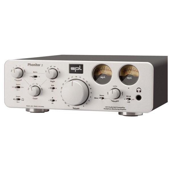 SPL Phonitor 2 Headphone Amplifier - Angled