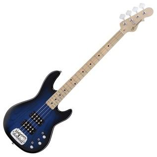 G&L Tribute L-2000 Electric Bass, Blueburst Full Guitar