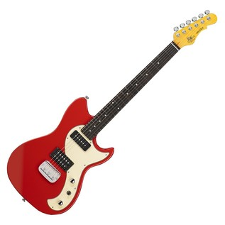 G&L Tribute Series Fallout, Fullerton Red, RW 1