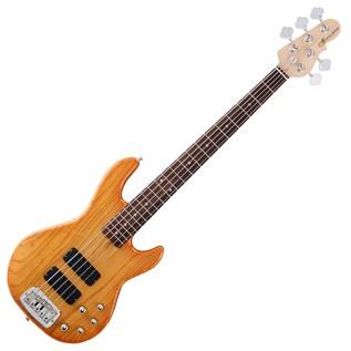 G&L Tribute M-2500 Electric Bass, Honeyburst Full Guitar