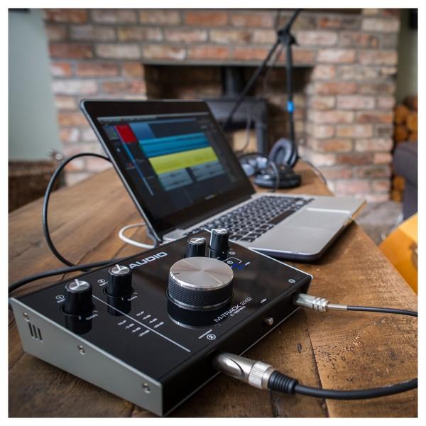 M-Audio M-Track 2x2 Audio Interface - Lifestyle 2