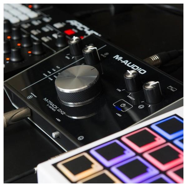 M-Audio M-Track 2x2 Audio Interface - Lifestyle 4