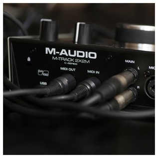 M-Audio M-Track 2x2M Audio Interface - Lifestyle 6