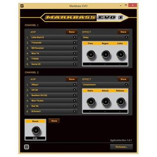 Markbass EVO 1 Software