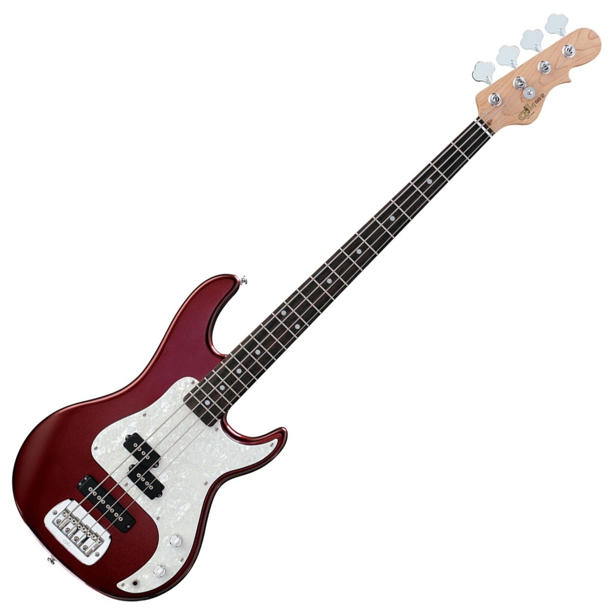 g l sb 2 electric bass bordeaux red at gear4music. Black Bedroom Furniture Sets. Home Design Ideas