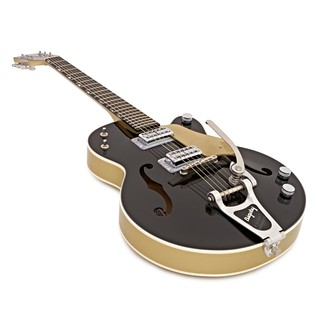 Gretsch G6118T-LTV 130th Anniversary Jr, Black/Gold Lacquer