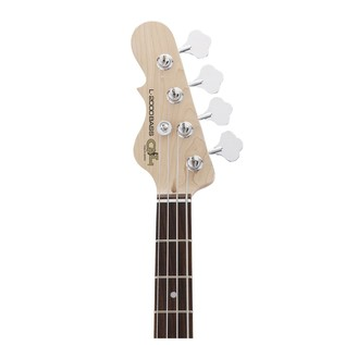 G&L Tribute L-2000 Electric Bass, Left Handed Natural Gloss Neck View