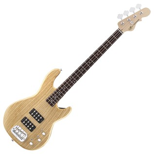 G&L Tribute L-2000 Electric Bass, Natural Gloss Full Guitar