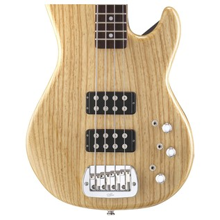 G&L Tribute L-2000 Electric Bass, Natural Gloss Body View