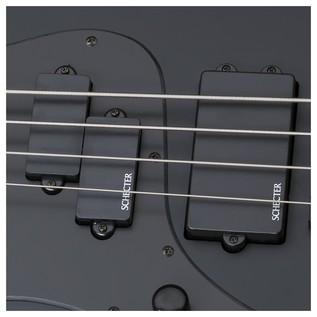 Schecter Stiletto Stealth-4 Left Handed Bass Guitar