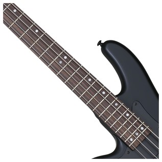 Stiletto Stealth-4 Left Handed Bass Guitar,Satin Black