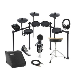 Alesis Nitro 8-Piece Electronic Drum Kit and Amp Package Deal