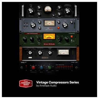 Antelope Audio Goliath Audio Interface - New Compressors