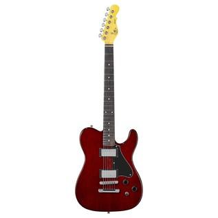 G&L ASAT Deluxe II Electric Guitar, Irish Ale Front Guitar