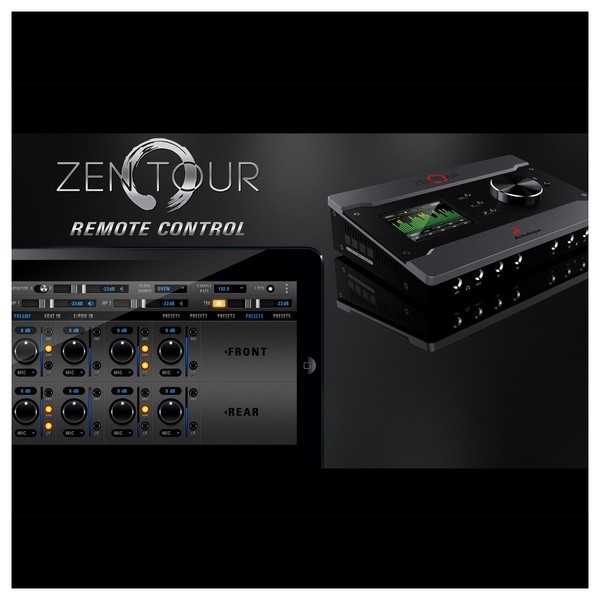 Antelope Audio Zen Tour Portable Audio Interface - Mobile App