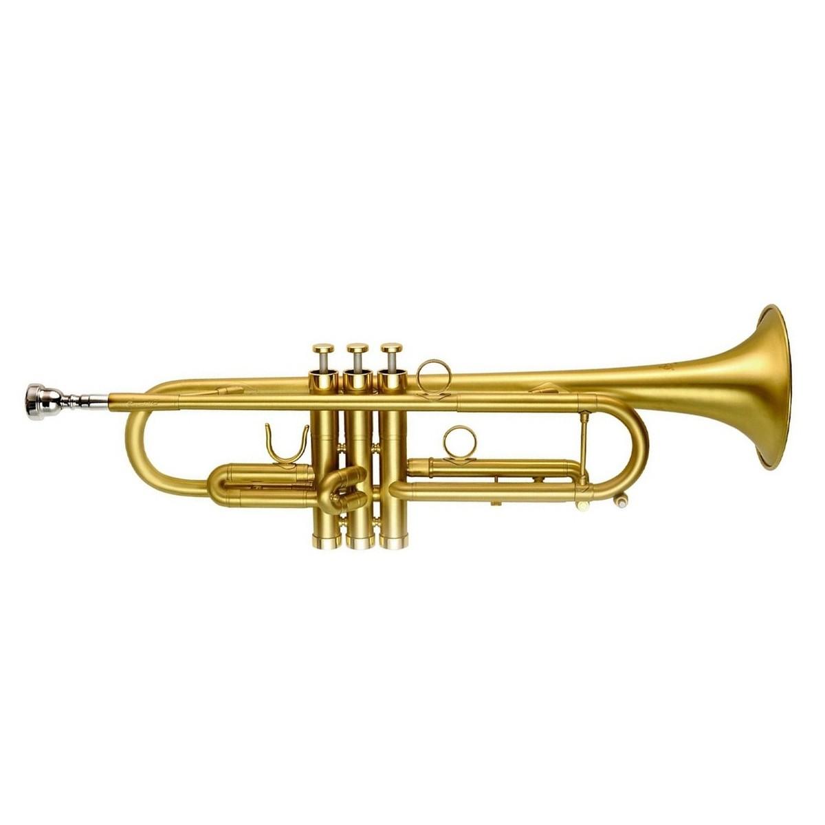 P Mauriat PMT-71 Bb Trumpet, Matte Gold