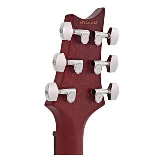 PRS S2 Standard 24 Satin Electric Guitar, Vintage Cherry with Zebras