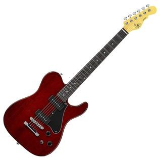 G&L Tribute ASAT Junior II Electric Guitar, Irish Ale Full Guitar