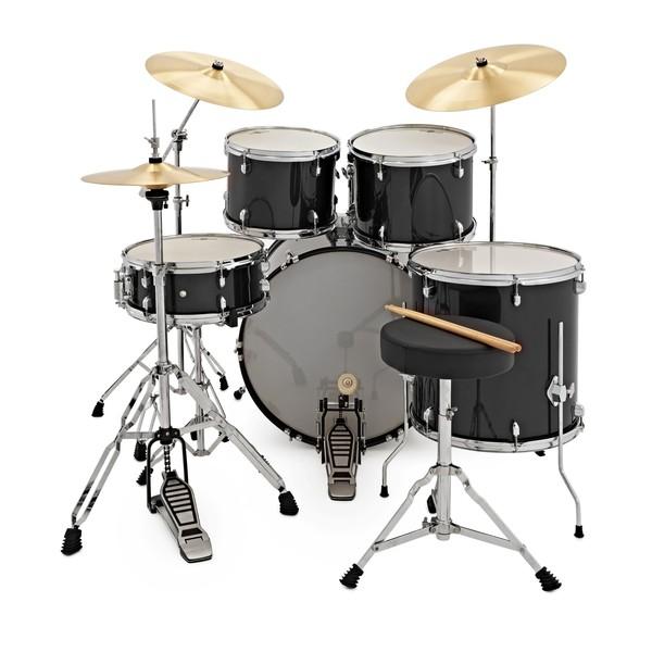 BDK-5 Drum Kit by Gear4music, Black
