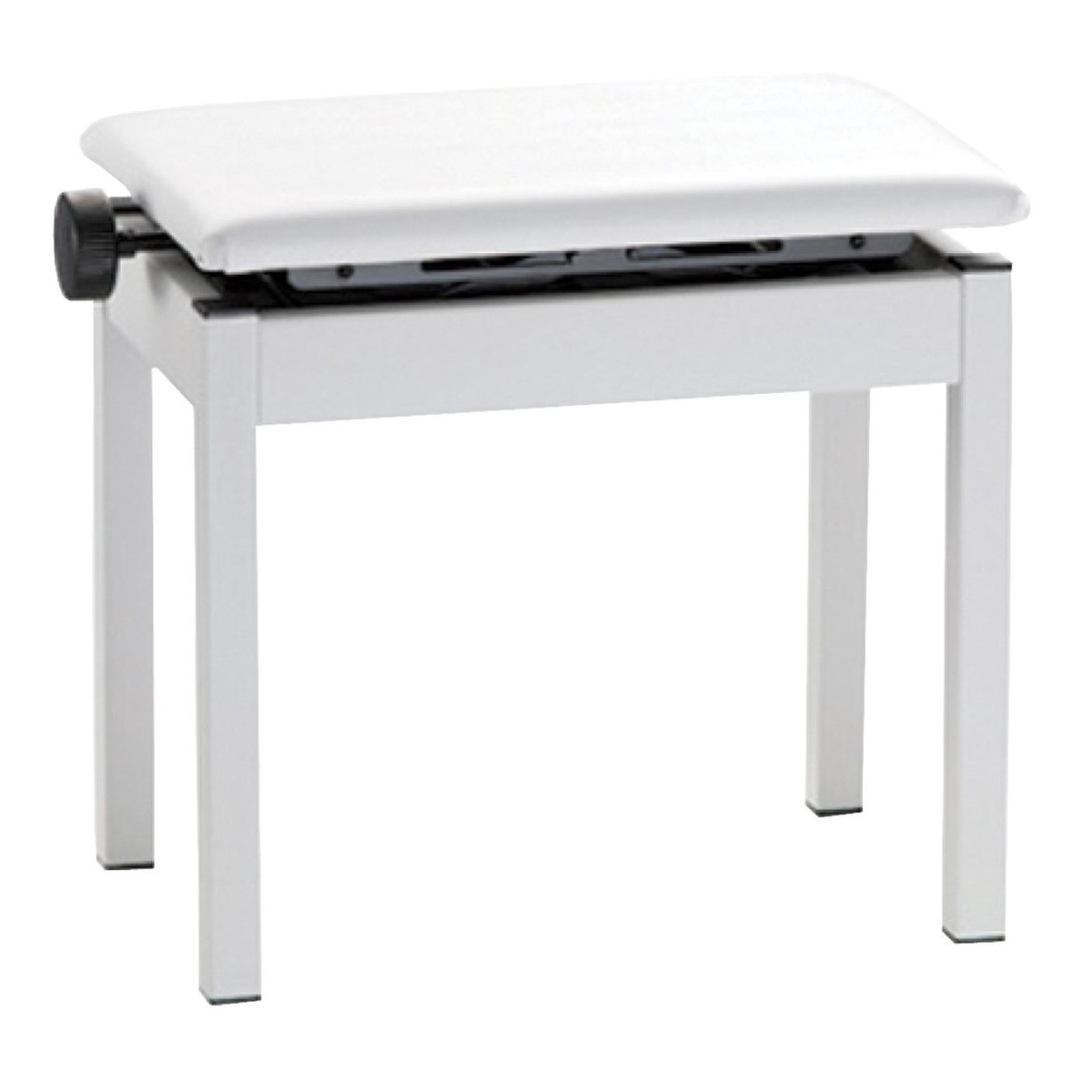 roland montent et descendent tabouret piano blanc. Black Bedroom Furniture Sets. Home Design Ideas