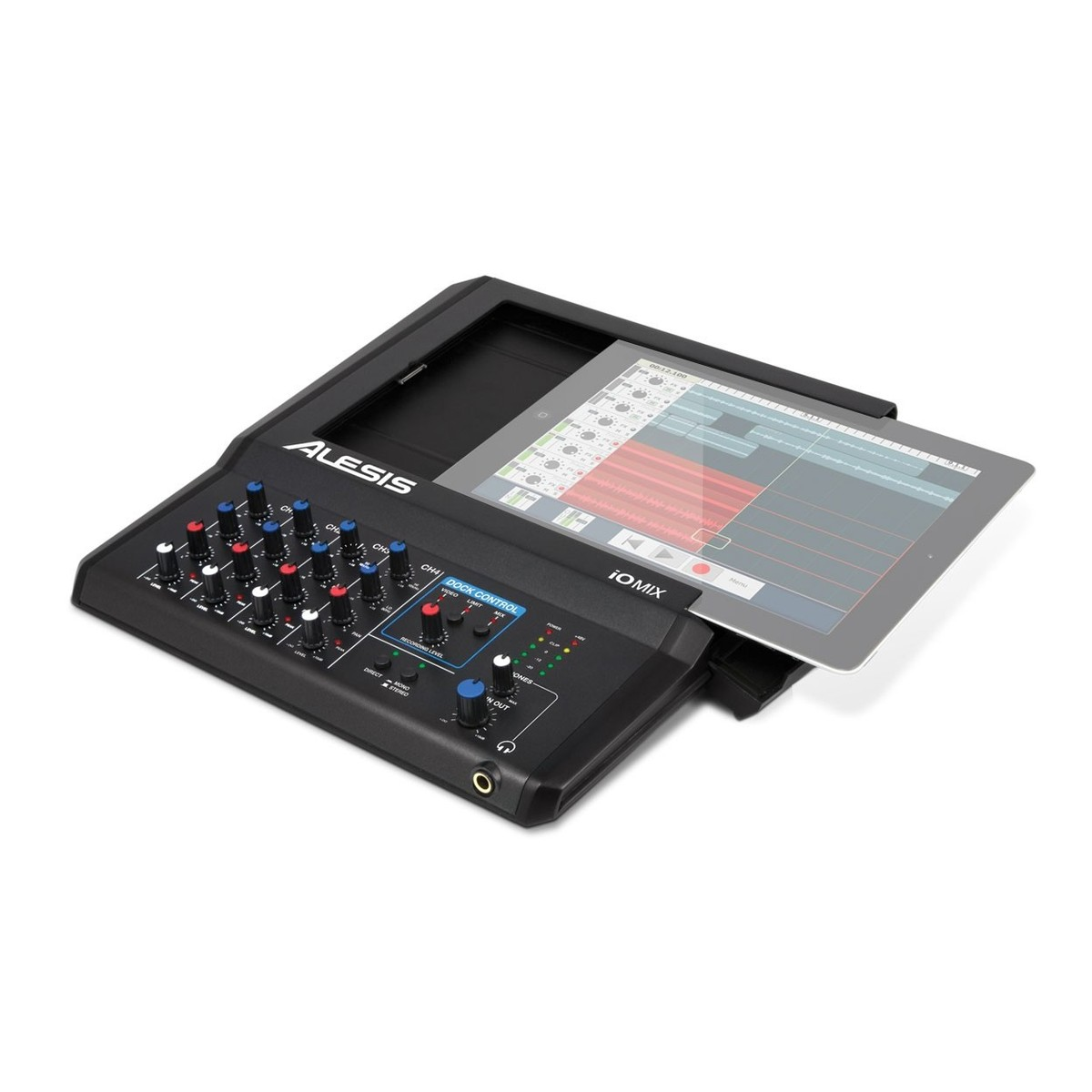 alesis io mix 4 channel mixer recorder for ipad b stock at gear4music. Black Bedroom Furniture Sets. Home Design Ideas