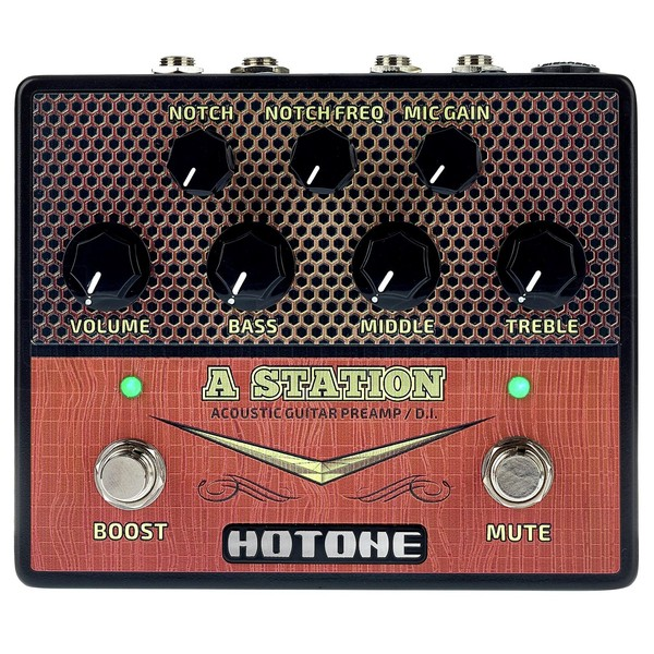 Hotone A Station Acoustic Preamp Pedal