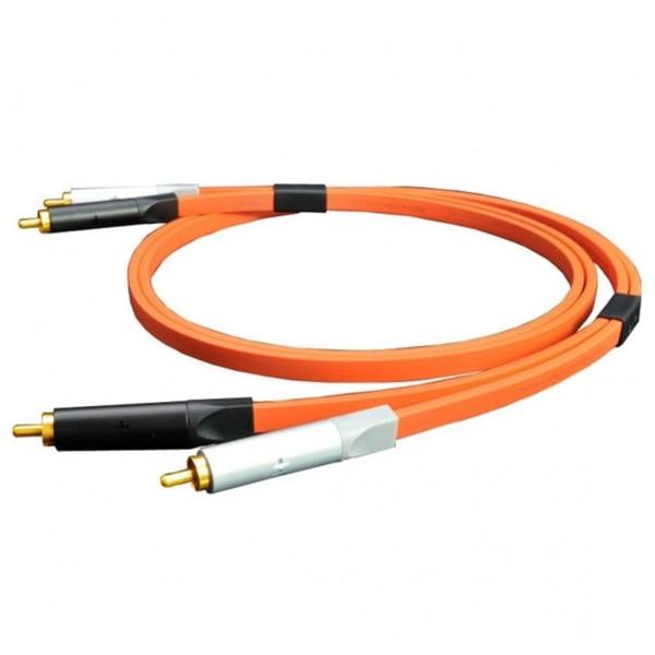 Neo Oyaide d+ RCA Class A, 2 Metre, Orange 1