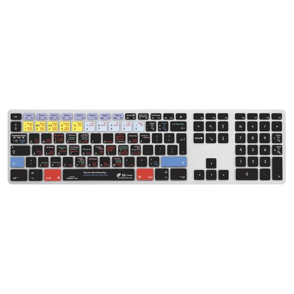 Magma Keyboard Cover Ableton Live 9 - Top