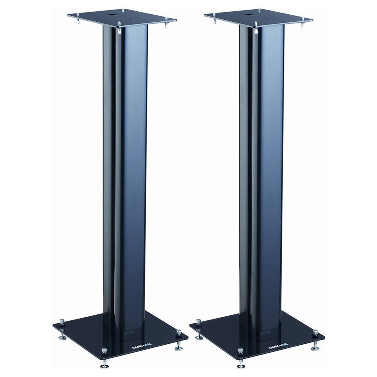quiklok 32 39 39 near field studio monitor stands pair at gear4music. Black Bedroom Furniture Sets. Home Design Ideas