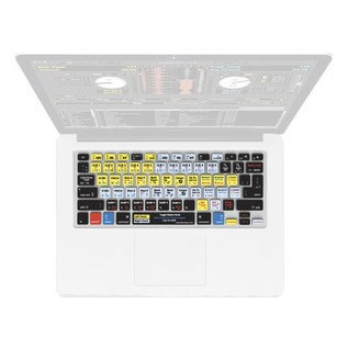 Magma Keyboard Cover Serato DJ / Scratch Live - Top