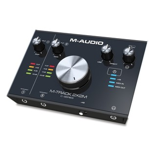 M-Audio M-Track 2x2M Audio Interface - Angled