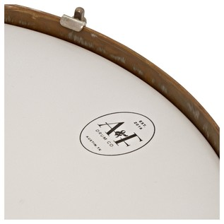 A&F Drum Co. 14'' x 1.5'' Pancake Snare Drum