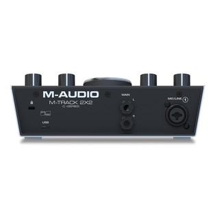 M-Audio M-Track 2x2 Audio Interface - Rear