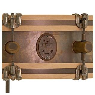 A&F Drum Co. 18'' x 4'' Gun Shot Snare Drum with Floor Tom Legs