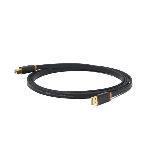 Neo Oyaide d+ USB Rev.2 Class A, 1 Metre, Orange 1